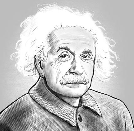 Einstein, A Stage Portrait